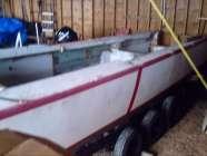 2005  32 ft. fiberglas boat project.