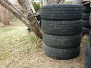2 15IN. WINTER KING TIRES P205/65R15