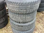 4 17IN. ARCTIC CLAW WINTER TIRES LT265/70R17