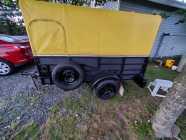 4×8 enclosed  trailer
