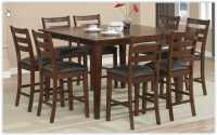 9-piece Butterfly Leaf Counter-height Dining Set
