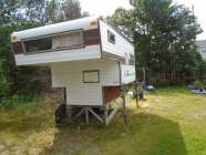TRUCK Camper, fits into 6' box with tailgate down, ...