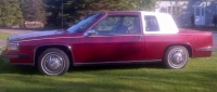 1985 cadillac deville 2dr coupe.Southern U S car in ...