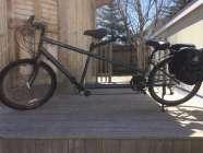 Tandem bike, price is ono
