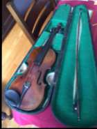 Antic violin and bow, call for details