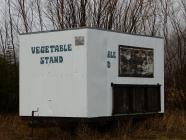 Portable vegetable stan