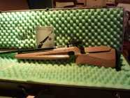 Competition Air Rifle with aluminum case
