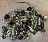 Assortment of tube sockets and shields