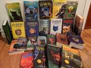 Assortment of Warrior Cats Books