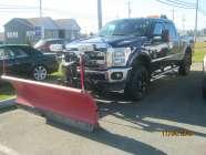 big daddy diesel crew cab with western plow