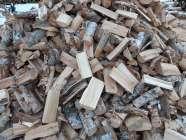 Black spruce and birch firewood