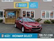 Certified 2018 Chevrolet Cruze Sedan LT (Automatic)