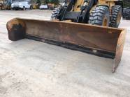 14' HLA 3800 CAT IT Quick Coupler Snow Pusher Box Blade