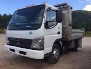 2010 Mitsubishi Fuso FE180 S/A Dump Truck