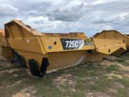 CAT 725C Dump Box with Tailgate & Dump Cylinders