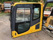 Unused Komatsu PC200 Cab, Seat and Heater