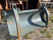 8 Ft Loader Blade with Hydraulic Fingers