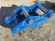 Unused 450 Deere size Excavator Mechanical Pin Grabber Quick Coupler