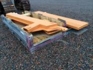 Two Unused CASE 330 Articulated Truck Tail Gates