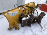 8' HLA 3000 Hydraulic Angle IT CAT Coupler Snow Blade