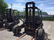 1986 Princeton D3600 Piggyback Forklift