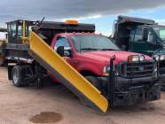 2002 FORD F550 4x4 Plow Truck