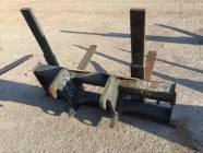 """48"""" Heavy Duty CAT IT Coupler Forks"""