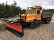 11' Hydraulic Angle Snow Blade and Truck Mount