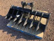 "Unused 54"" Rake for 8 - 14 Ton Excavator"