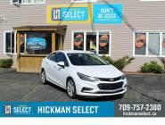 Certified 2017 Chevrolet Cruze Sedan Premier