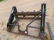 """Volvo L90 to L120 Quick Coupler 48"""" Weldco Beales Pipe Forks"""