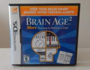 Brain Age 2 for nintendo 3ds used only once
