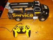 Caterpillar Remote Controlled Service Truck, works