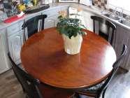 Cherry kitchen table set