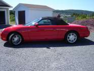 This  beautiful 2002 Thunderbird could be yours!