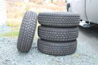 Four Winter Tires 195/70/R14, with rims