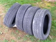 Four winter tires (P205/55R16) fits toyata matrix