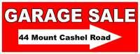 Yard Sale 44 Mount Cashel Road  Aug 12@7:30 a.m.