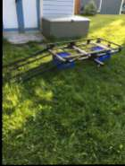 Hitch Basket & attached Ramp for sale