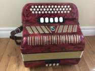 Hohner Club III M button accordion, CF.