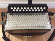 Hohner Pokerworks button accordion, CF