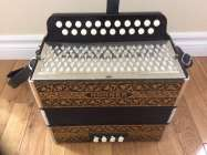 Hohner Pokerworks button accordion, CF - Photo 1 of 8
