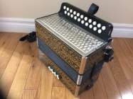 Hohner Pokerworks button accordion, CF - Photo 2 of 8