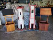 LIGHTHOUSE LAWN ORNAMENT - Photo 1 of 4