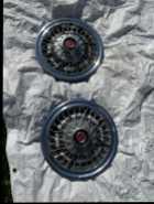 Metal wire hubcap wheel covers