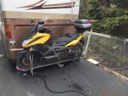 RV motor cycle carrier