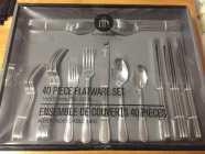 New 40 piece flatware set