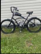 66cc Motorized bike (2 stroke). It is brand new, tested ...