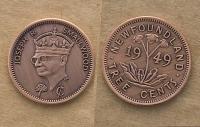 Newfoundland Tree Cent Novelty Coin