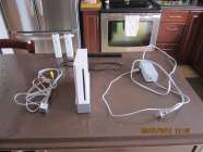 Nintendo Wii Console, No Games, 2  White Remote Controllers, AC ...